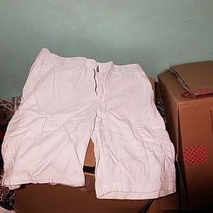 American Rag White Cargo Shorts
